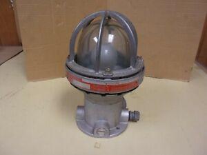Killark HX-1-100 Hazardous Location Light Fixture 150W Max , 250V Max