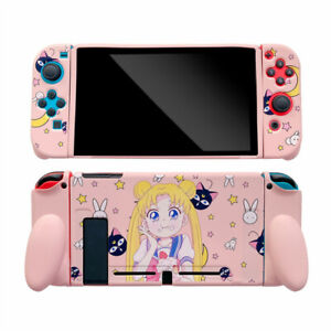 Cute Cartoon Sailor Moon soft Case Cover For Nintendo Switch Protective Shell UK