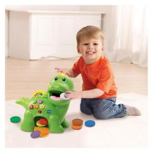 NEW V Tech Feed Me Dino from Mr Toys