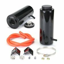 Universal Black Radiator Coolant Aluminum Catch Tank Overflow Reservoir 800ML