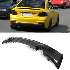 Carbon Fiber Rear Diffuser Bodykit Fit for BMW 2 Series F22 M Sport Bumper 14-17