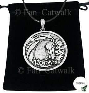 Rohan Necklace Eowyn Horse LOTR Lord of the Rings Shieldmaiden Middle-earth