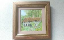 Original Watercolor Miniature Painting signed by W.Brookes framed In VGC