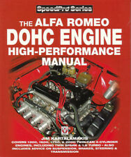 Alfa Romeo Engine Manual Book Dohc High Performance Shop Spider Service Repair (Fits: Alfa Romeo)