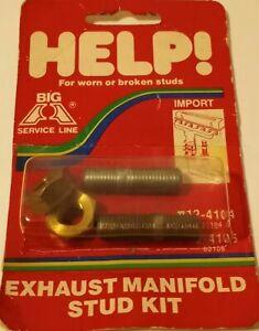 Dorman 03105 Exhaust Manifold Stud & Nut Kit M10-1.25 x 43mm for Toyota & Honda