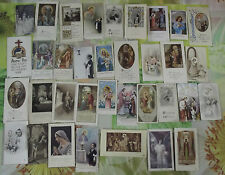 34 Ancienne images pieuse communion ésotérisme église
