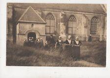 Kerkuitgang Zoutelande Zeeland Netherlands Vintage Postcard 027b