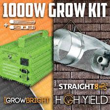 """1000 watt Hps/ Mh Grow Light w 8"""" Cooltube glass tube"""