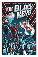 The Black Keys  - Band  Wall  Poster -  34 in x 22 in ( Fast Shipping )