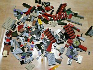 Star Wars LEGO NINJAGO LOT VRAC TEMPLE PIECES bordeaux gris , ...
