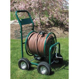 LIBERTY 2LRK8 Garden Hose Reel,Cart,8 in,Steel