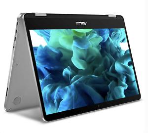 "Asus VivoBook Flip 14 14"" Touch Laptop 4GB 64GB Windows 10 (J401MA-DB02)"