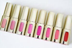 L'oréal Paris Colour Riche Extraordinaire Lip Gloss, 5.5ml (CHOOSE COLOR &PACK)