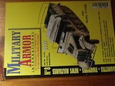 $$s Revue Military Armor International N°8 Sd.Kfs 9 FAMO  T34/76  Jeep SAS