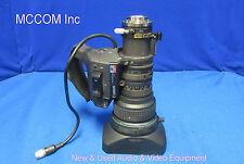 """Canon J14ax8.5B4 IRS SX12 Zoom SD 2/3"""" Lens w/ 2X"""