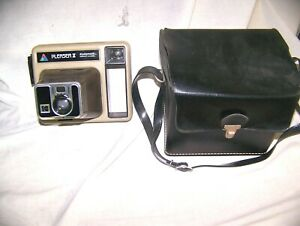 KODAK Instant Camera PLEASER II with Carrying case, Shoulder strap, all controls