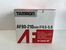 Tamron AF80-210mm F/4.5-5.6 For Canon - AF Compatible- New In Box!
