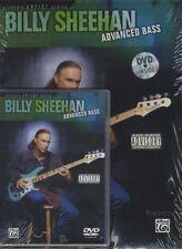 Billy Sheehan Advanced Bass Guitar Techniques TAB Music Book/DVD
