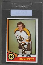 ** 1974-75 OPC Don Marcotte #221 (VGEX) Hockey Card Set Break ** P2451