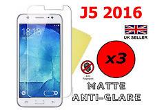 3x Protector de Pantalla Antirreflejo HQ Mate cubierta Film Protector Samsung Galaxy J5 2016