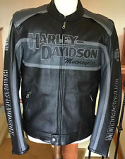 Harley Davidson Men's Cruiser Leather Jacket with Zip-out Liner-Mint