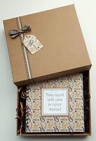 "Pet Cat Memory Book, Handmade 8""x8"" scrapbook, Kitten Photo Album, personalised"