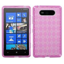Étuis, housses et coques roses Nokia Lumia 820 pour téléphone mobile et assistant personnel (PDA) Nokia