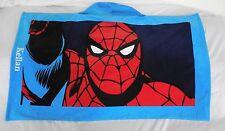 "Pottery Barn Kids Spider-man Beach Wrap Monogrammed ""Kellan"" Nwot"