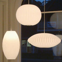 Modern Classic George Nelson bubble lamp pendant hanging light replica