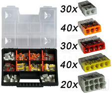 WAGO Sortimentbox Set Variobox Wagoklemmen Box Hebelklemmen | 160 Stück