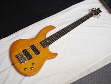 DEAN Edge 1 5-string BASS guitar NEW Trans Amber - Chrome Hardware - B-stock