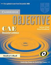 Objective CAE Student's Book, Good Condition Book, Broadhead, Annie, O'Dell, Fel