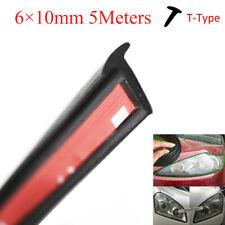5m Carrubber Sealing Strip T Type Rubber For Car Edge Trim Bumper Side Skirt Fits Mitsubishi Diamante