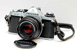 Pentax ME 35mm Film Camera + Asahi Pentax -M-SMC f/1.7 50mm Lens (NOT ME Super)