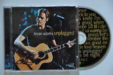 """Bryan Adams  """" Unplugged """"  CD"""