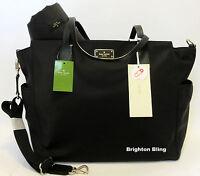 Kate Spade Blake Avenue Kaylie Baby Diaper Bag MultiFunction Tote Black RSP $349