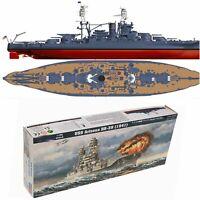 1/700 Military USS Arizona Class Battleship BB-39 Plastic Model Assembly Kit DIY