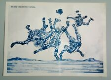 Sky Diving Poster F.T. ELY 1972 Print
