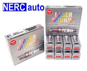 NGK LASER IRIDIUM Iridium Spark Plugs DILFR6J11 92491 Set of 8