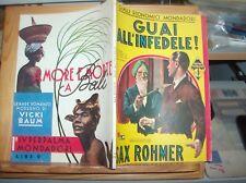 "GIALLI ECONOMICI MONDADORI N. 153 ""GUAI ALL'INFEDELE! di S. ROHMER"" originale"