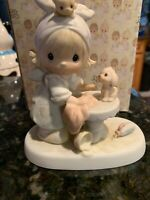 Precious Moments Porcelain Figurine This is Your Day To Shine E2822