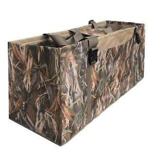 12 Slot Duck Decoy Bags Slotted Decoy Hunting Gear Duck Hunting Camo SALE