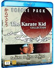 THE KARATE KID Collection Blu ray - Triple Pack ( Karate Kid 1 - 3 ) ( NEW )