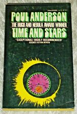 Poul Anderson, TIME AND STARS, Vintage 1960's Science Fiction Paperback