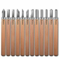 Preciva Handmade Wood Engraving tools Carving Tools Knife Kit Handmade for