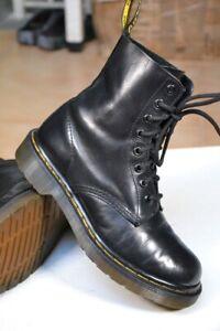 Scarpe DR.MARTENS N.37 UK4 BOOTS BLACK Neri Anfibi Inverno