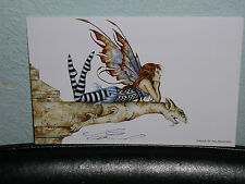 Amy Brown - Gargoyle Iii - Mini Print - Signed - Rare