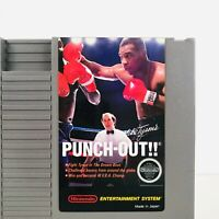Nintendo Mike Tyson's Punch-Out Video Game 1987 Nintendo NES Classic Tested Ex.