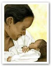 God's Blessing Limited Edition Kenneth Gatewood African American Art Print 17x23