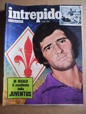 Intrepido n°9-10 1973 Domenico Caso e Antognini Fiorentina Lone Wolf   [G389]